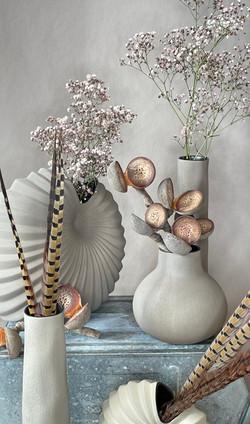 Keramik Vasen Kakhi