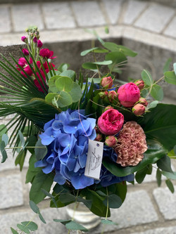 Strauss pink / blau