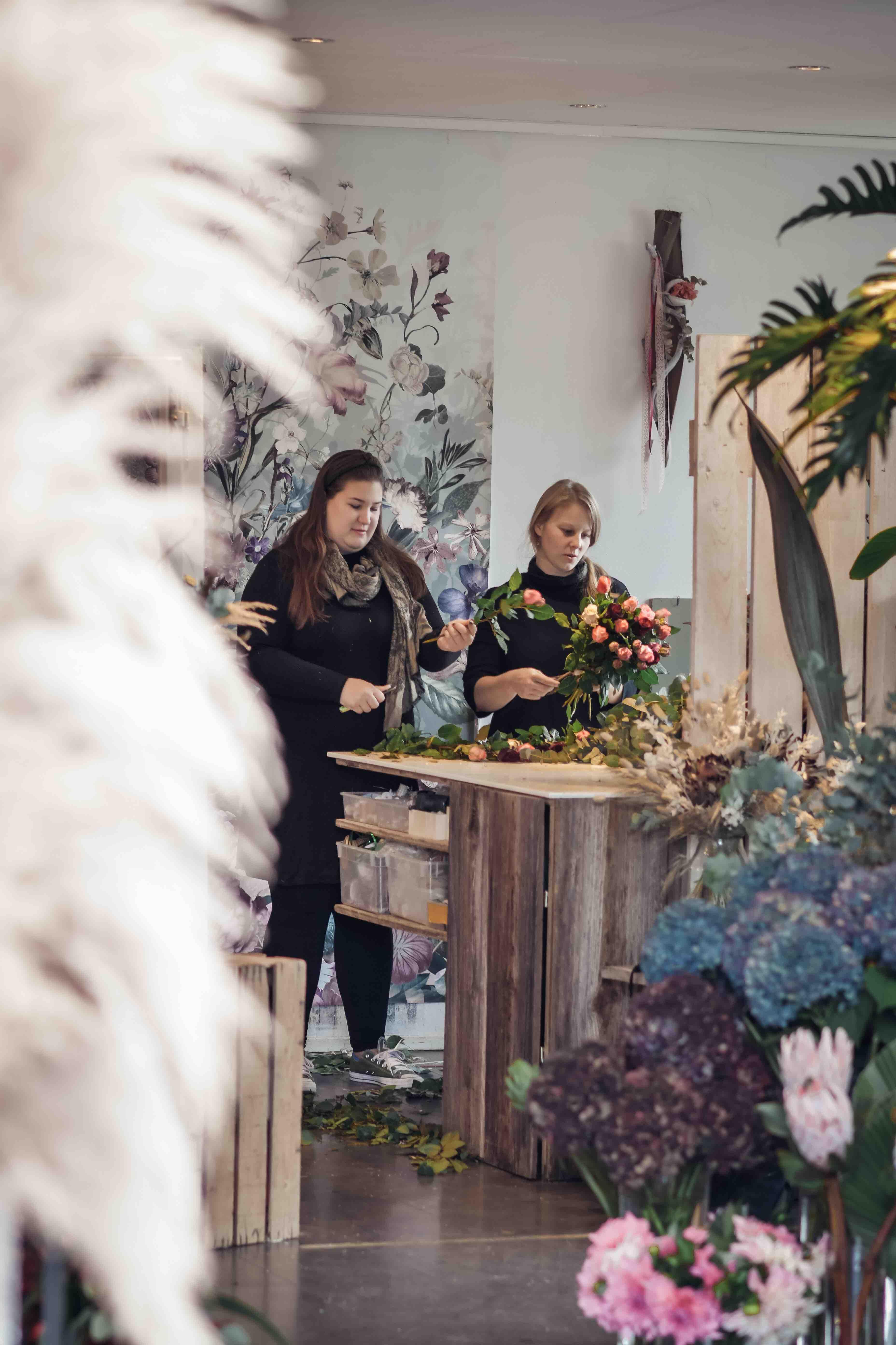 Blumen Graben Team