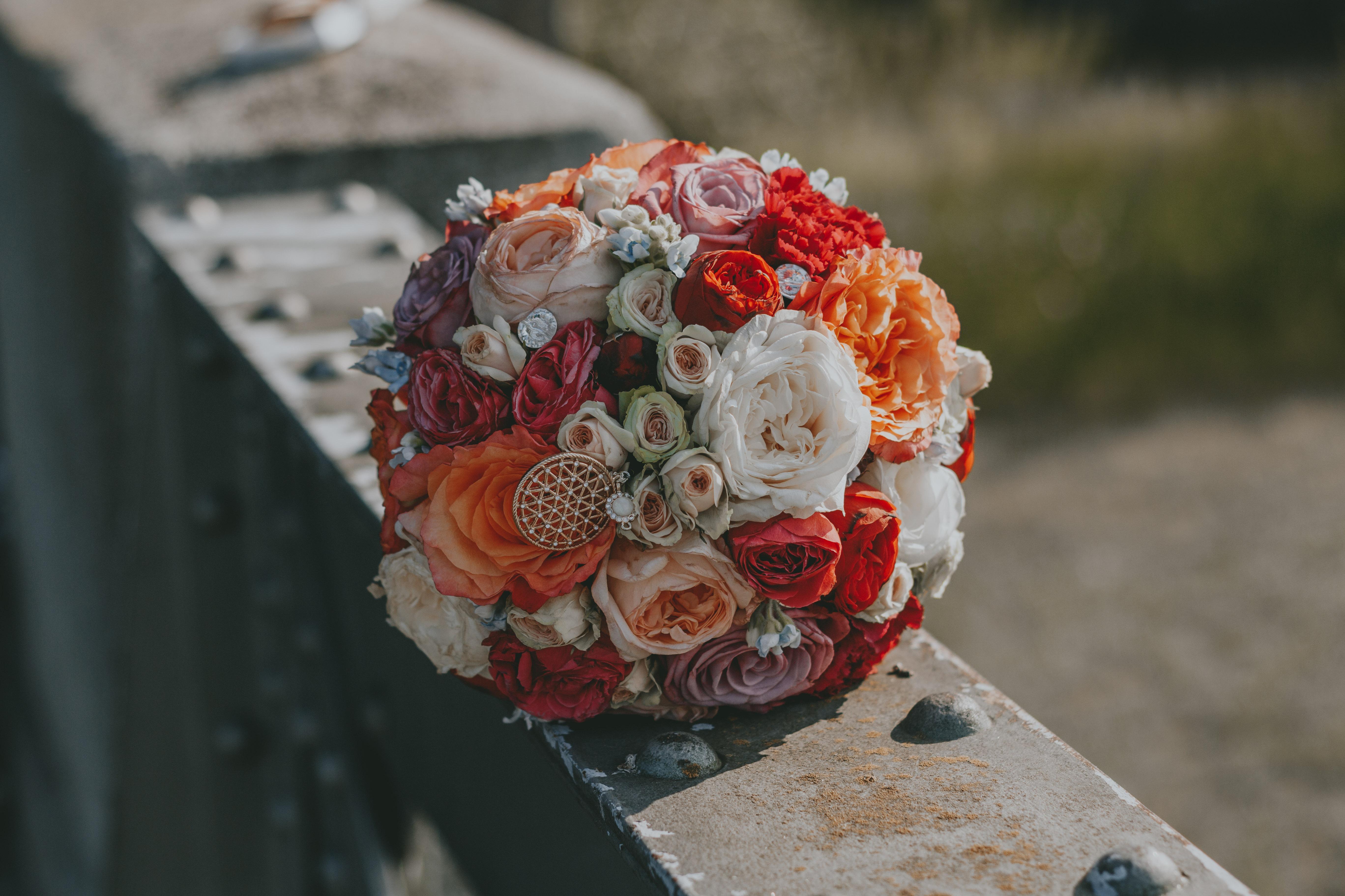 Brautstrauss Rosen über Rosen