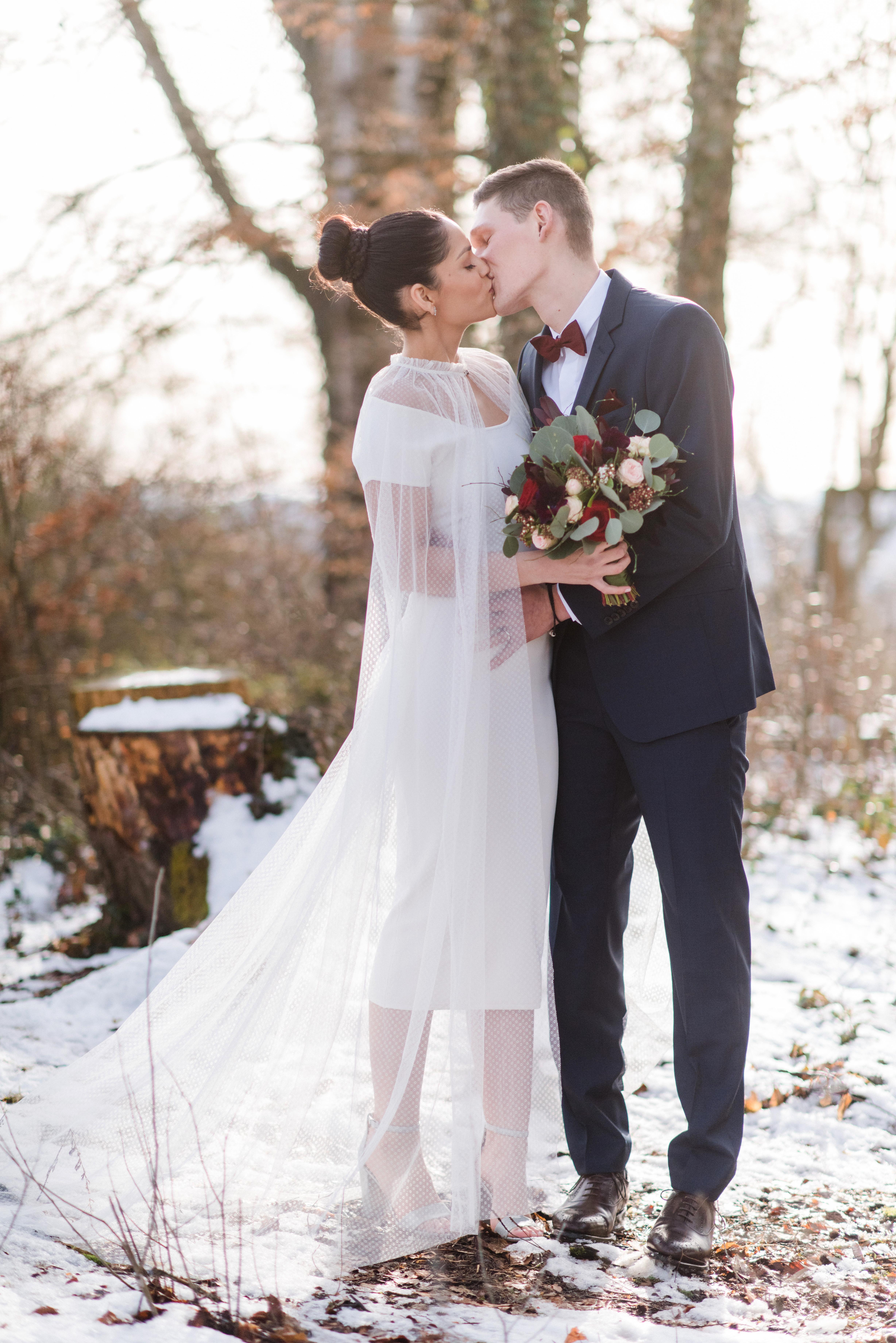 Brautstrauss winterlich