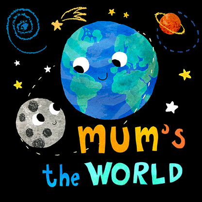 Mother's day card - World