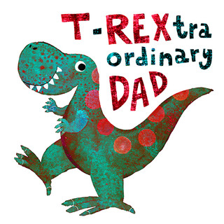 Father's Day card - T-REX