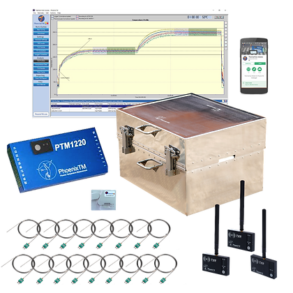 PhoenixTM 20Ch High Temperature RF System (Up to 1000°C)