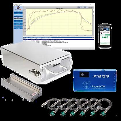 PhoenixTM 10Ch CAB & Vacuum Brazing Temperature Profile System