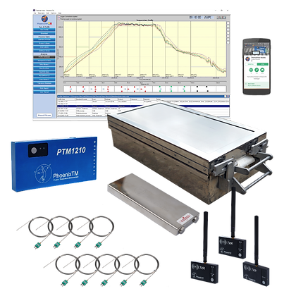 PhoenixTM 10Ch High Temperature RF System (Up to 1000°C)