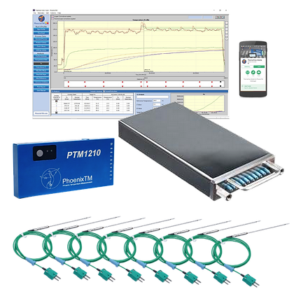 PhoenixTM 10Ch Food Low Temperature Profiling System