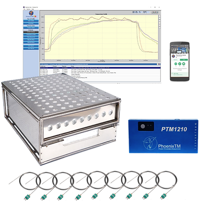 PhoenixTM 10Ch Water Quench Temperature Profile System