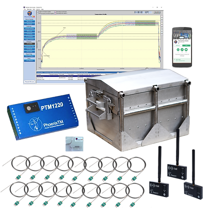 PhoenixTM 20Ch Ultra-High Temperature RF System (Up to 1200°C)