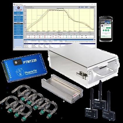 PhoenixTM 20Ch CAB & Vacuum Brazing RF Temperature Profile System