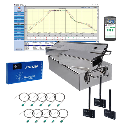 PhoenixTM 10Ch High Temperature RF System (Up to 800°C)