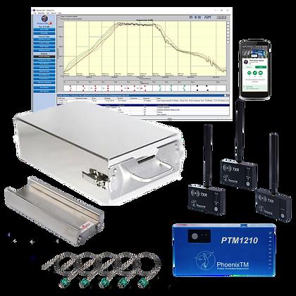 PhoenixTM 10Ch CAB & Vacuum Brazing RF Temperature Profile System