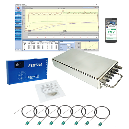 PhoenixTM 10Ch Food High Temperature Profiling System