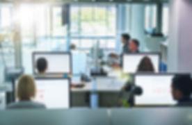 Computer Büro-Arbeit