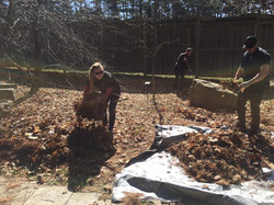 Rotary Garden Spring Cleanup