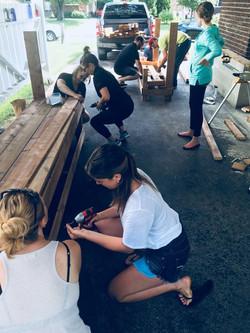 Mud Kitchen Build