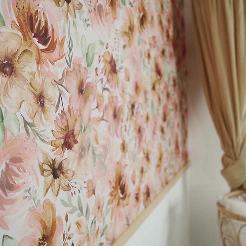 GARDEN OF MEMORIES - tapeta w stylu boho do dziewczęcego pokoju