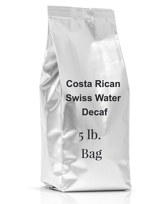 Costa Rican Swiss Process Decaffeinated Coffee