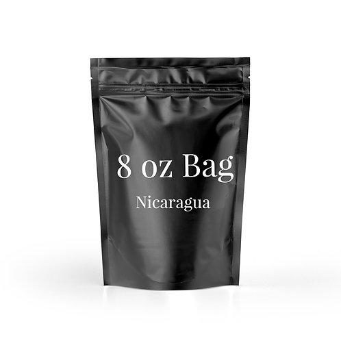 8 oz. Bag of Nicaragua Coffee