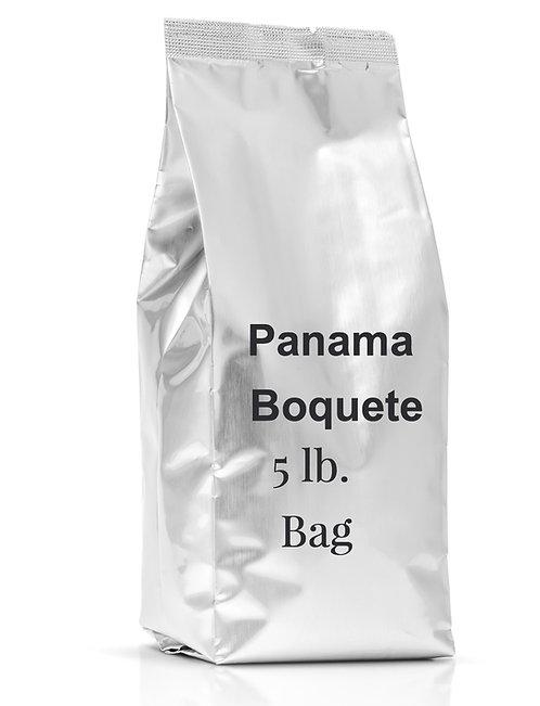 5 lb. bag of Panama Boquete