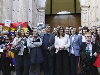 Aprobada sin votos en contra la ley de memoria de Andalucía.