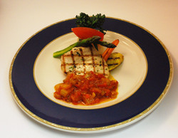 Grilled Cold Water Swordfish