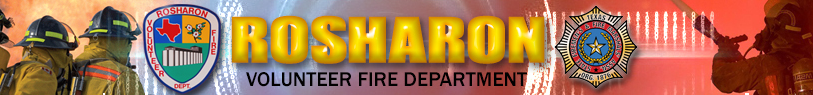 Rosharon Vlunteer Fire Department, Rosharon Fire Department