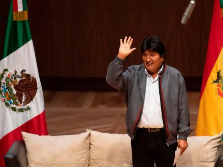 Evo y la 4T de López Obrador