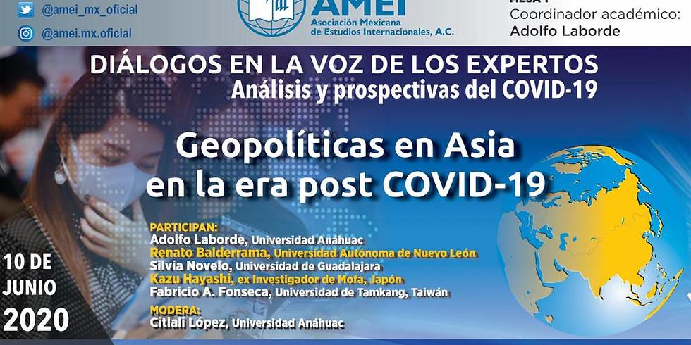 Geopolítica en Asia en la era post COVID-19