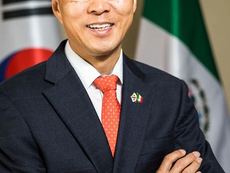 Entrevista con el Embajador Sudcoreano Sang-il Kim