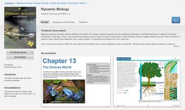Sapling Learning Dynamic Biology