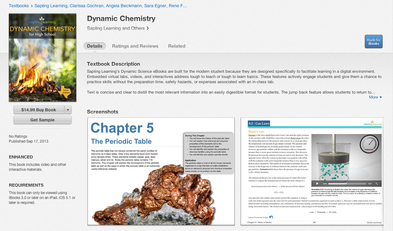 Sapling Learning Dynamic Chemistry