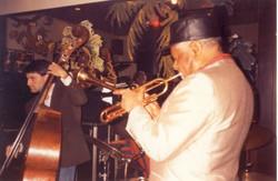 Con Dizzy Gillespie