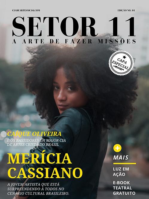 Revista SETOR 11 - Edição 1 (Capa Alternativa - Merícia Cassiano)