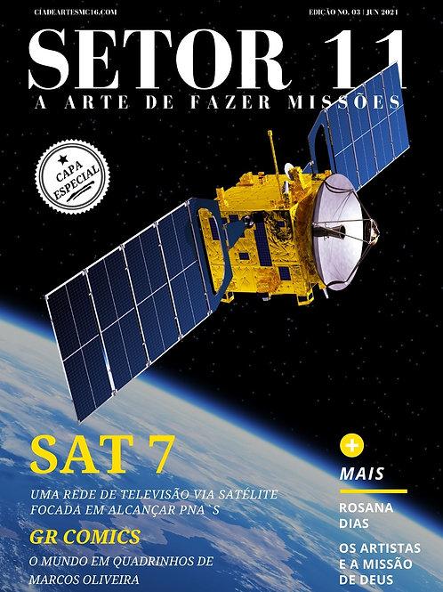 Revista SETOR 11 - Edição 3 (Capa Alternativa - SAT7)