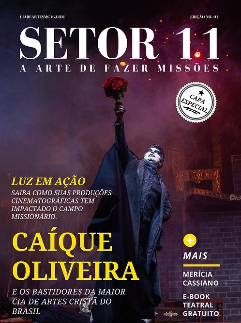 Revista SETOR 11 - Edição 1 (Capa Alternativa - Cia Nissi)