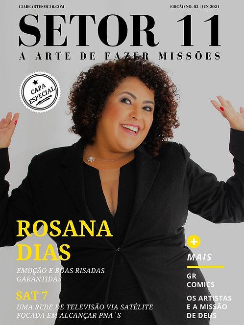 Revista SETOR 11 - Edição 3 (Capa Alternativa - Rosana Dias)