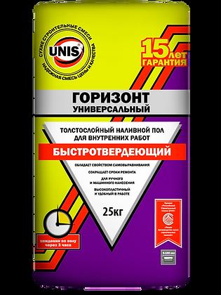 Пол наливной Юнис Горизонт универсальный 25 кг