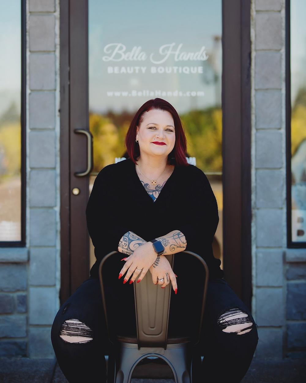 Melissa Schumann, Bella Hands Beauty Boutique