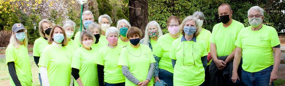 Group of Newbury food pantry volunteers