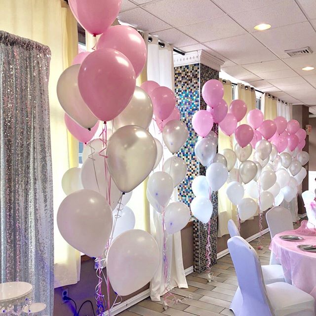 """Baby Shower""_Balloon Trees_ _sittingpre"