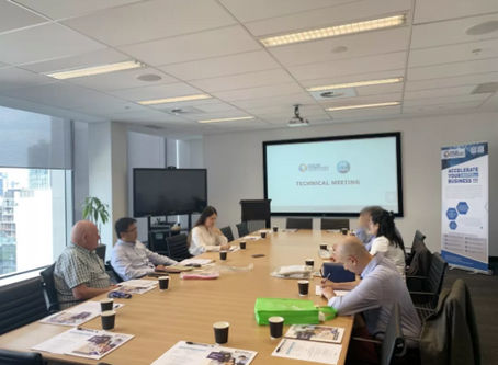 CSIRO Functional Powders Team accelerating business via international collaboration