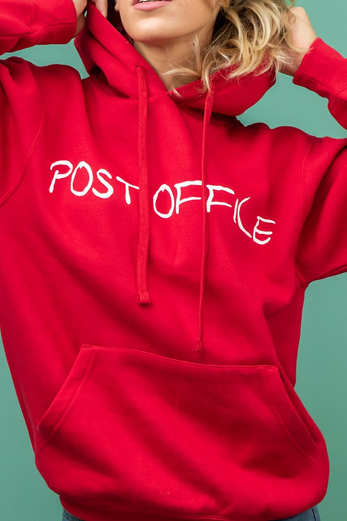 Felpa Post Office - GIRL LIMITED EDITION - RED