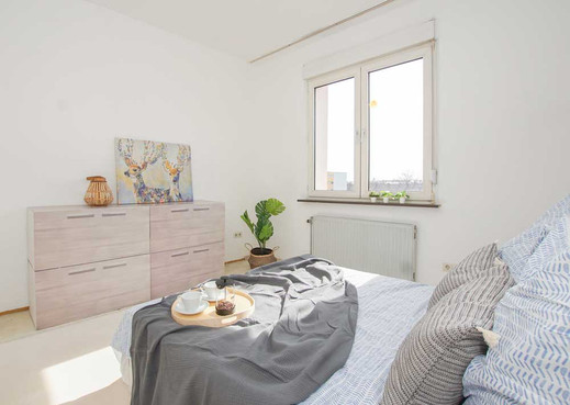 Schlafzimmer Homestaging
