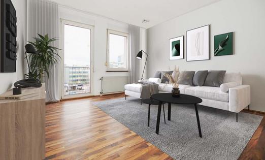 Wohnzimmer (Homestaging)