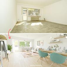 Beispiel Virtuelles Homestaging