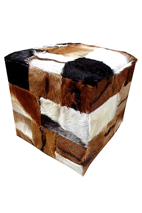 Square pouf stool 000134
