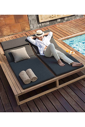 Stade Double Lounger