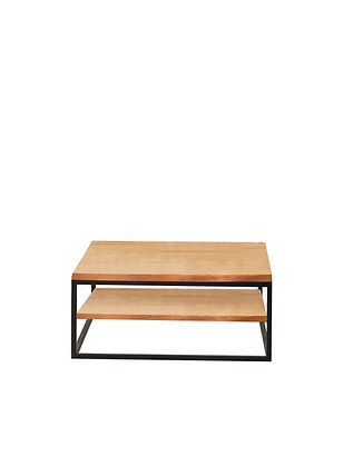 Deauville coffee table with shelf