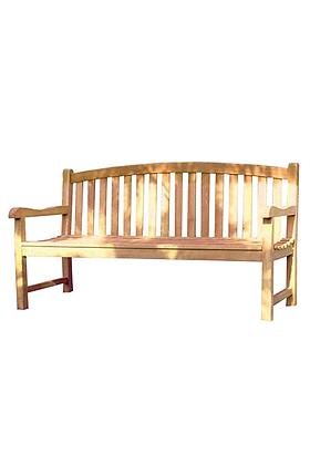 Up Oval bench teak